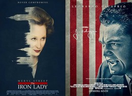 Poster Lab: <em>The Iron Lady</em> and <em>J. Edgar</em>