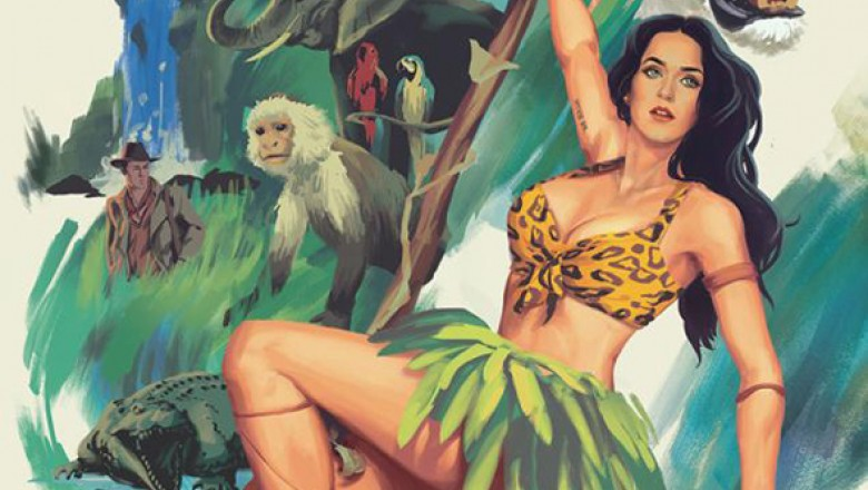 "Music Video: Katy Perry's ""Roar"""