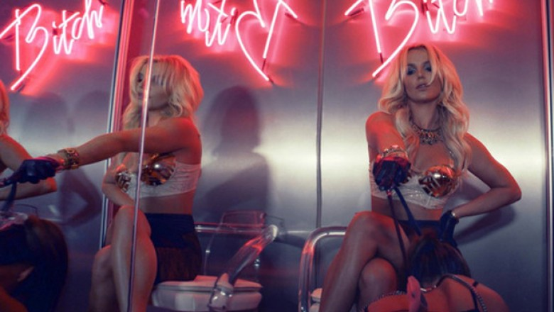 "Music Video: Britney Spears, ""Work Bitch"""