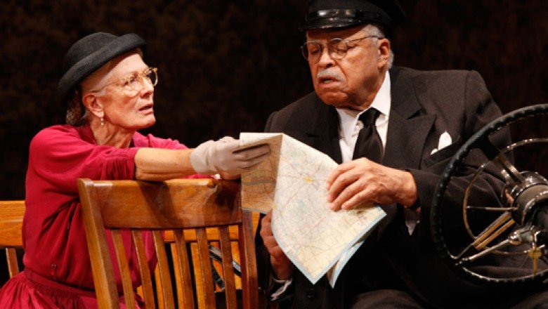 Star Turns: Vanessa Redgrave and James Earl Jones in <em>Driving Miss Daisy</em> and Jan Maxwell in <em>Wings</em>