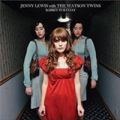 Jenny Lewis with the Watson Twins Rabbit Fur Coat