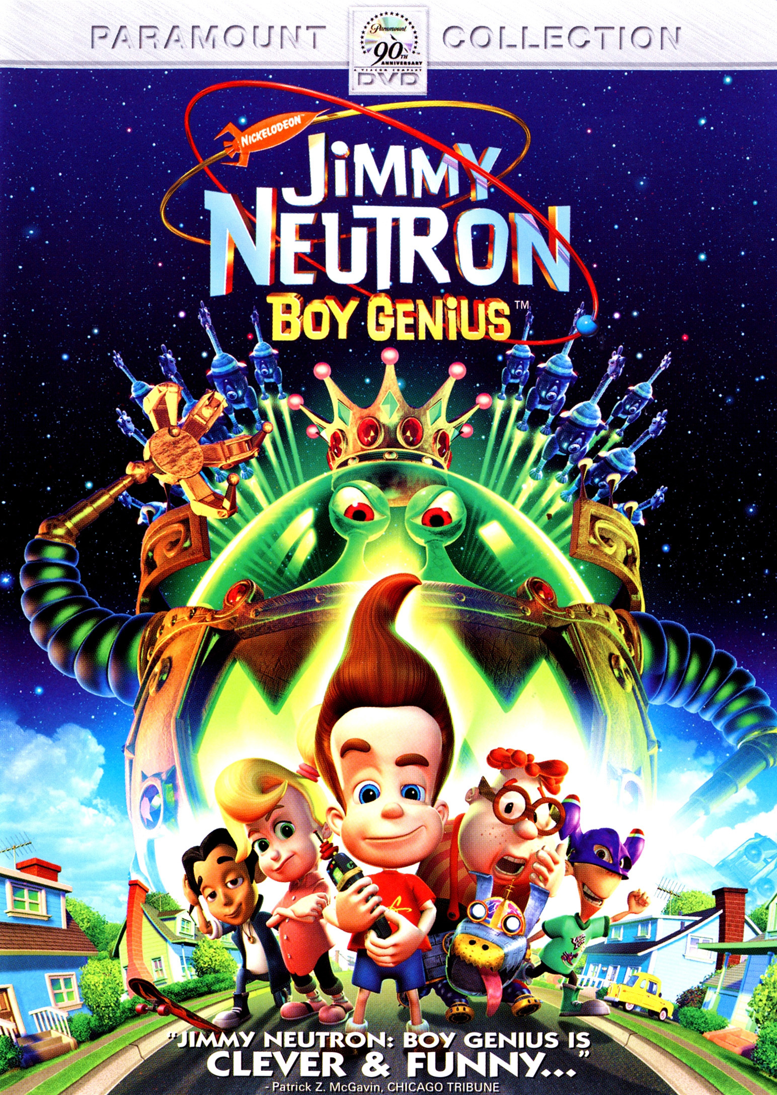 Dvd Review Jimmy Neutron Boy Genius Slant Magazine