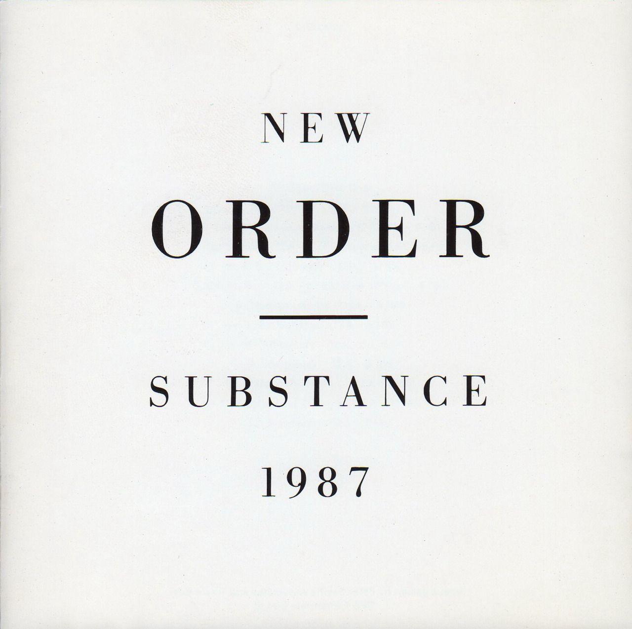 New Order, Substance