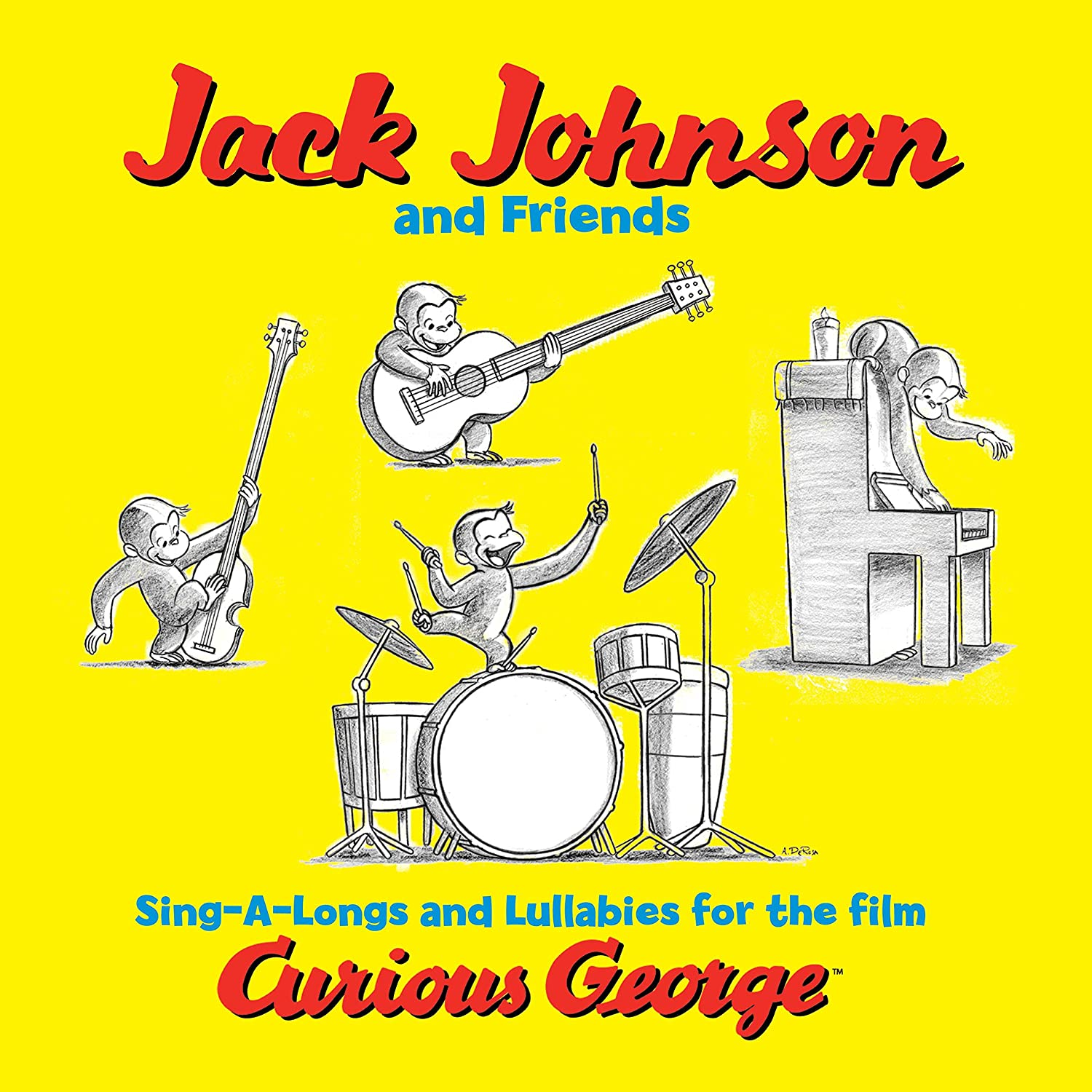 Jack Johnson & Friends, Sing-A-Longs and Lullabies for the Film Curious George