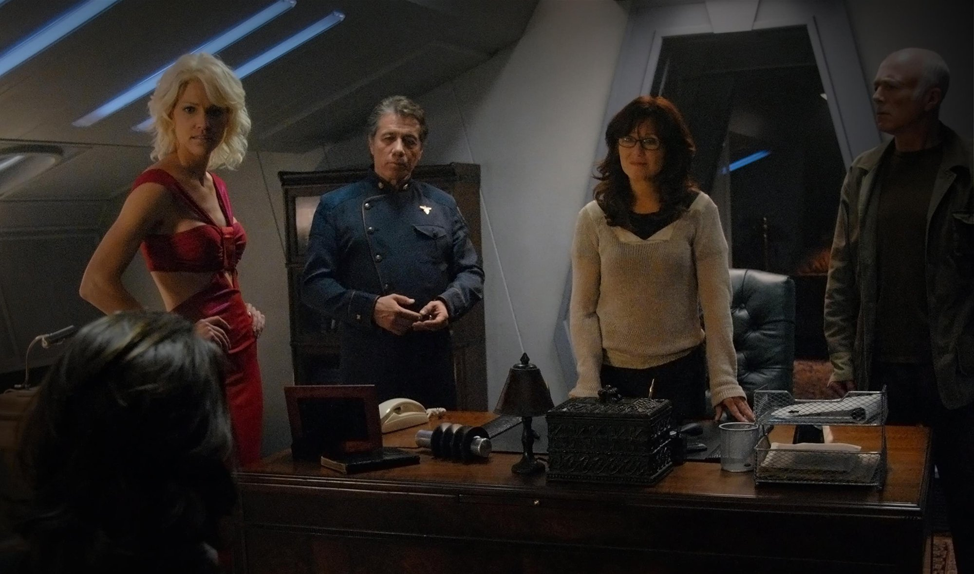 Battlestar Galactica, Season 3, Episode 5, Collaborators