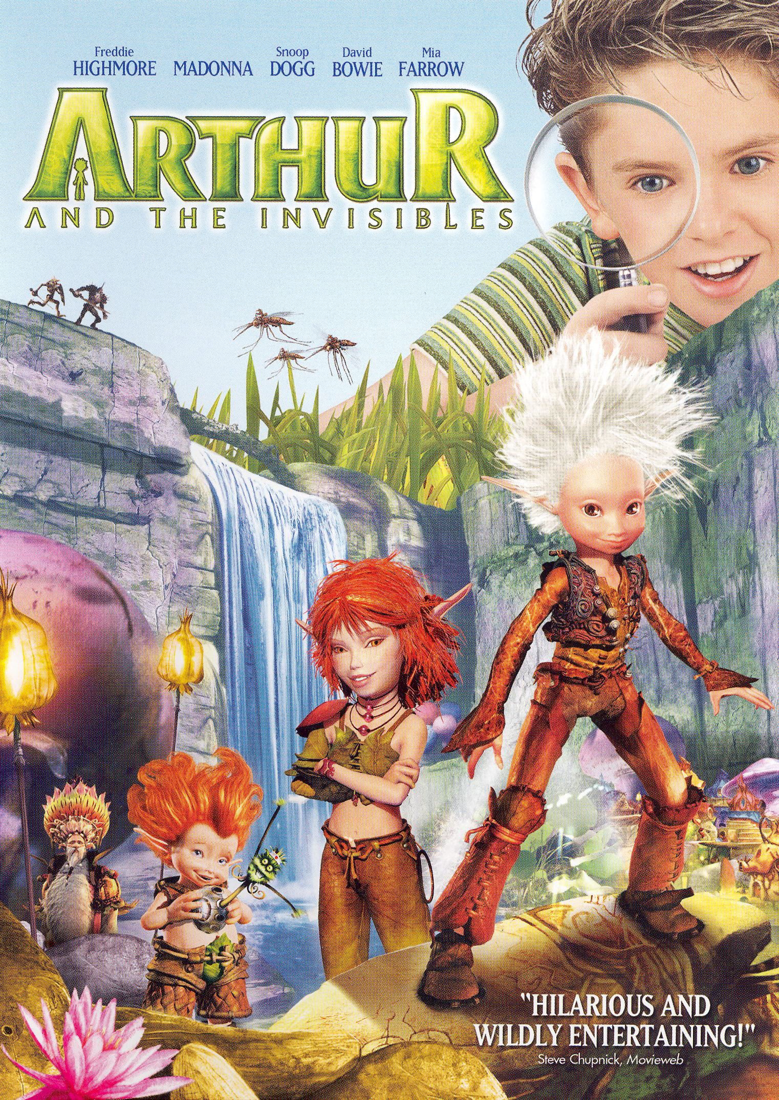 Dvd Review Arthur And The Invisibles Slant Magazine