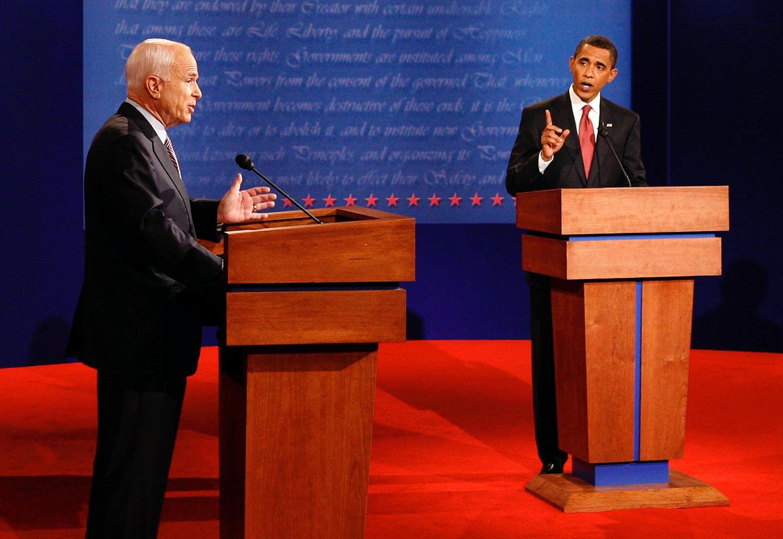 McCain vs. Obama: Round I