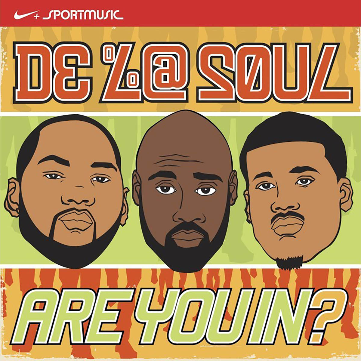 De La Soul, Are You In?: Nike + Original Run