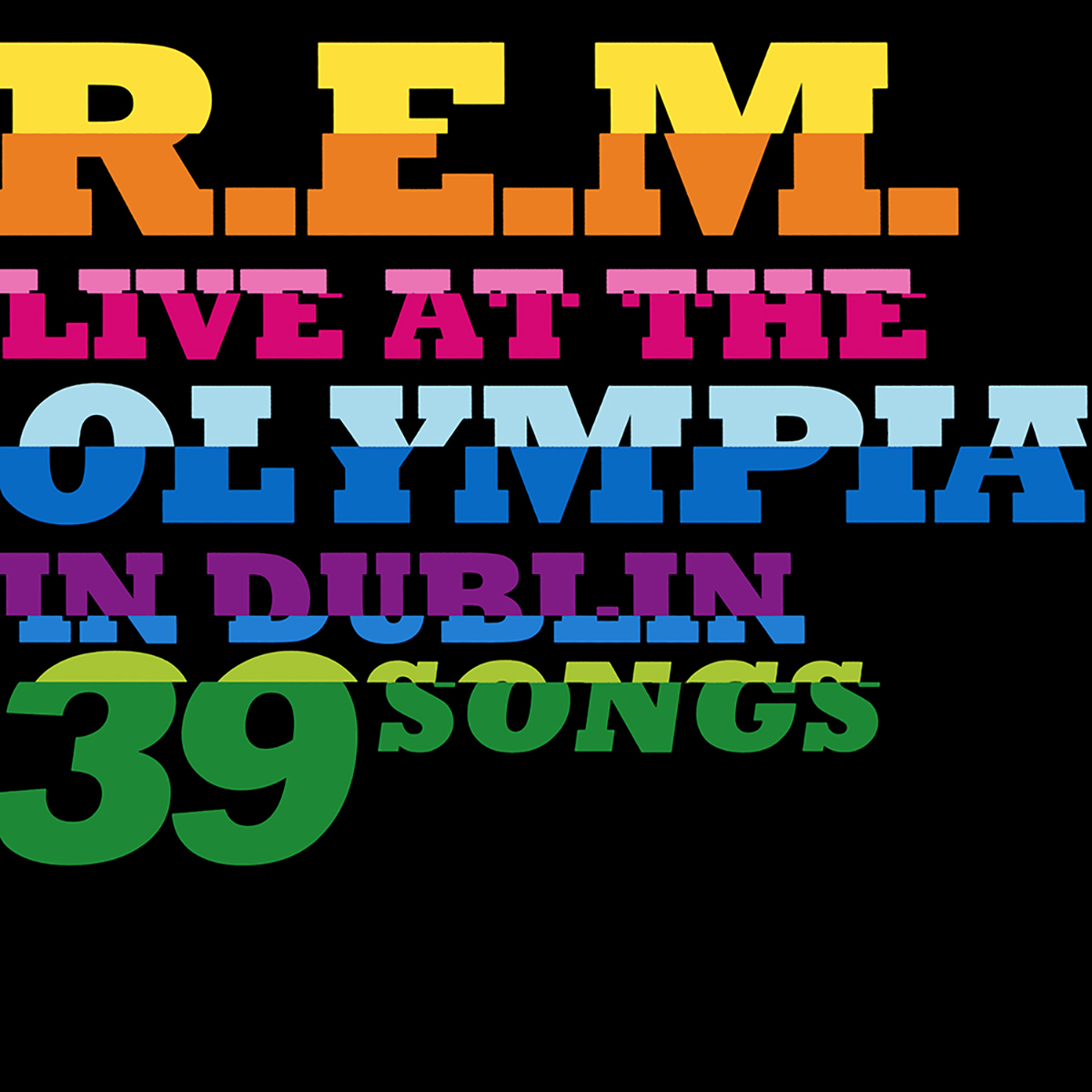 R.E.M., Live at the Olympia
