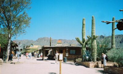Faking Arizona at Old Tucson Studios