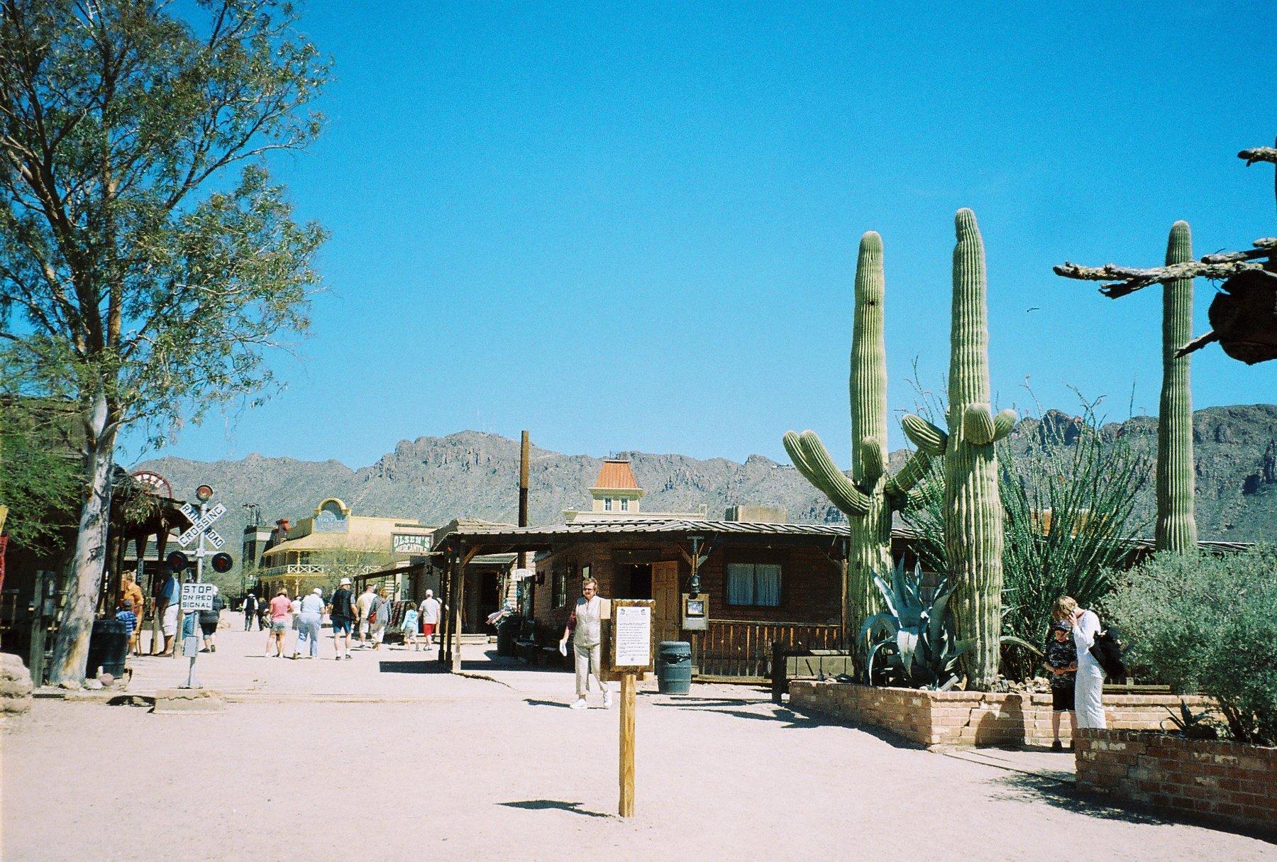 Faking Arizona at Old Tucson Studios