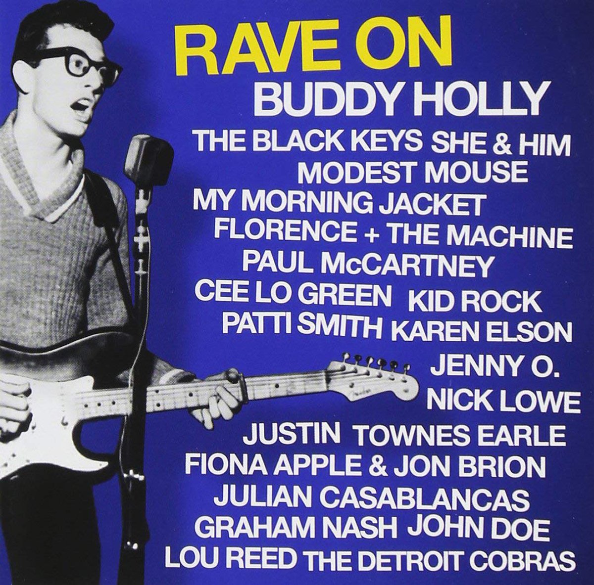 Various Artists, Rave on Buddy Holly