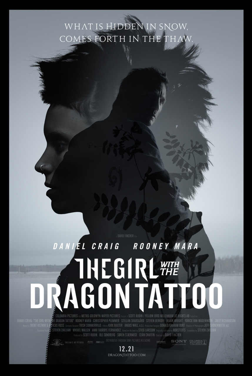 Poster Lab: The Girl with the Dragon Tattoo