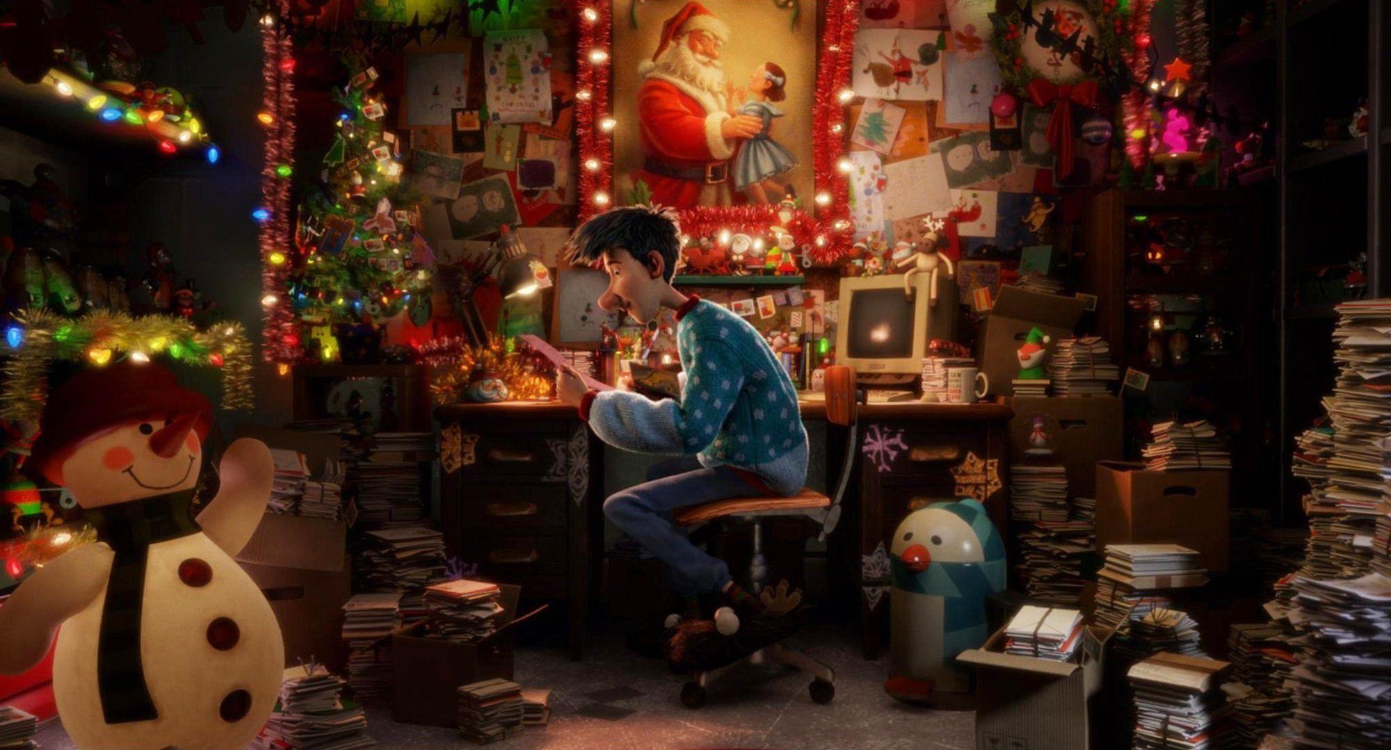 Review Arthur Christmas Slant Magazine