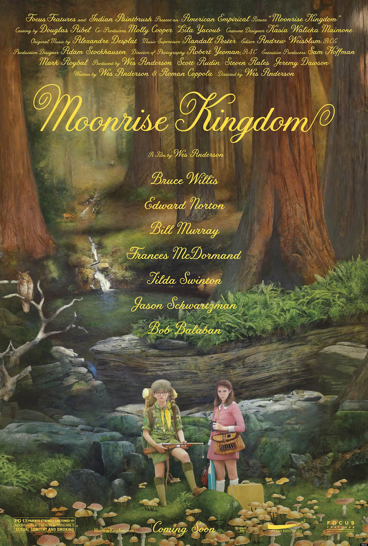 Poster Lab: Moonrise Kingdom
