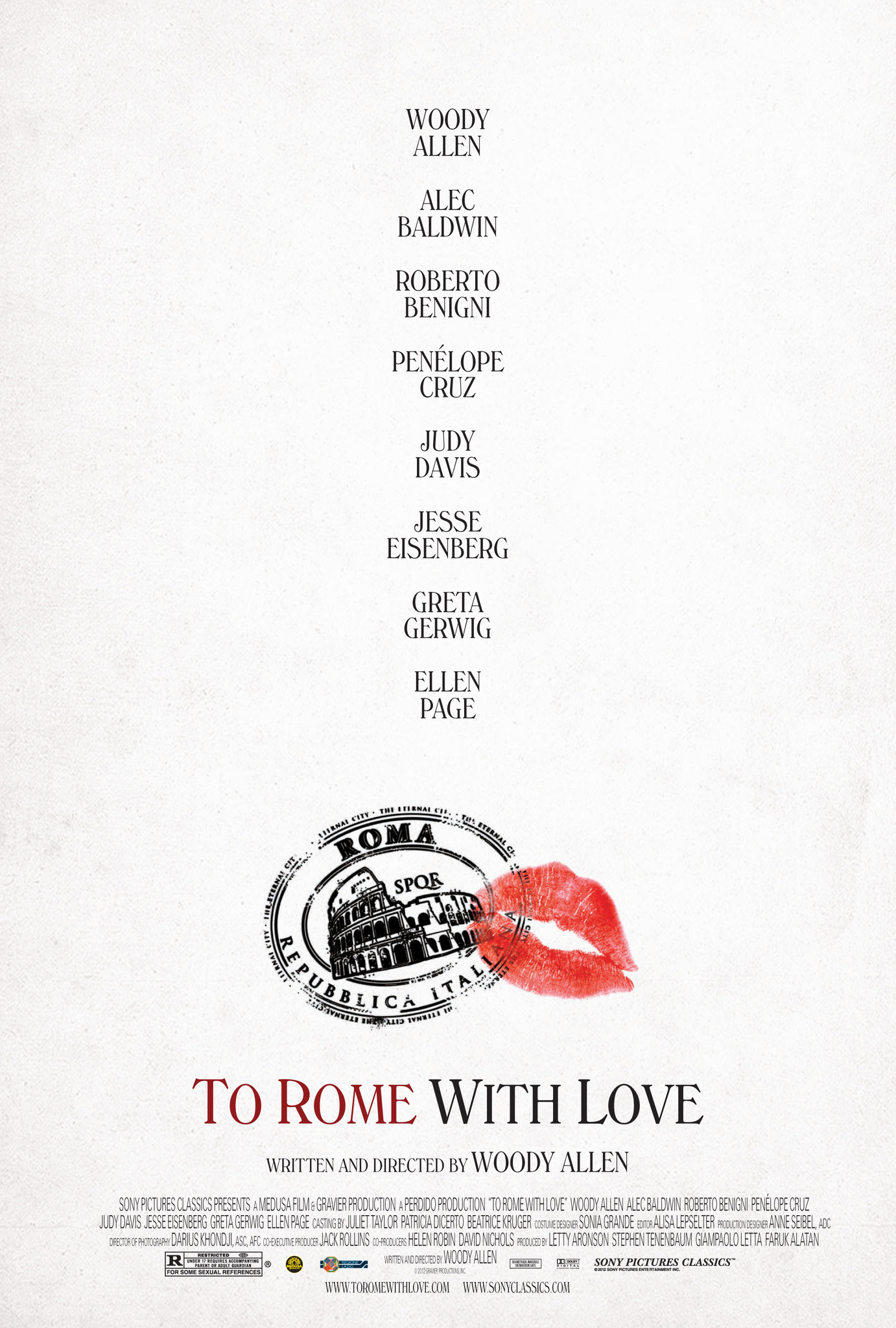 Poster Lab: To Rome with Love