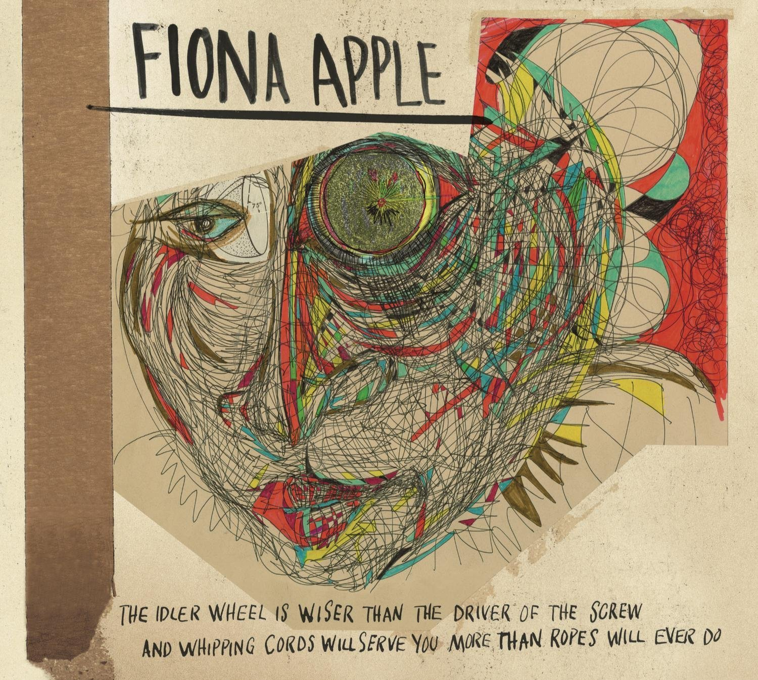 Fiona Apple, The Idler Wheel Is Wiser Than the Driver of the Screw, and Whipping Cords Will Serve You More Than Ropes Will Ever Do