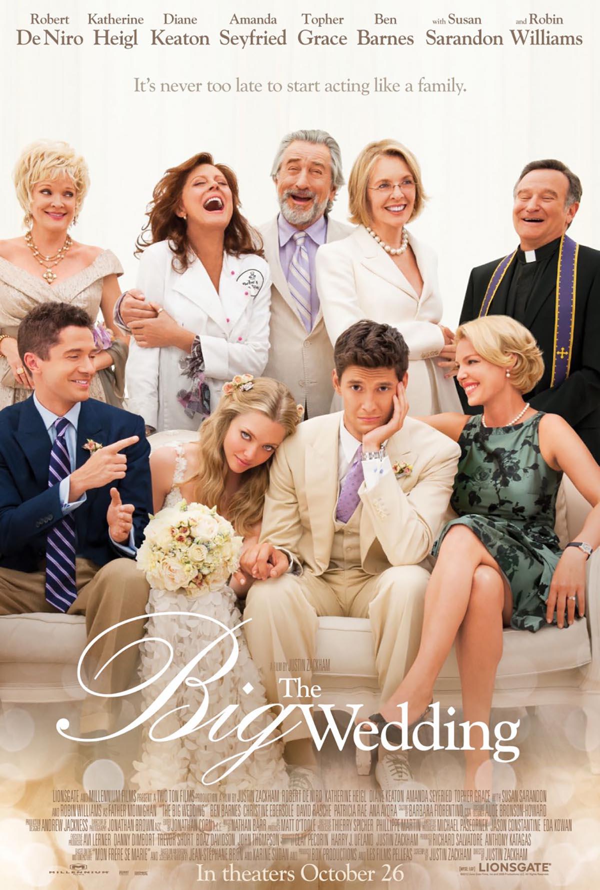 Poster Lab: The Big Wedding