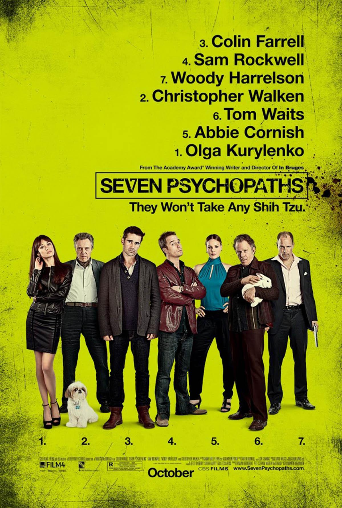 Poster Lab: Seven Psychopaths