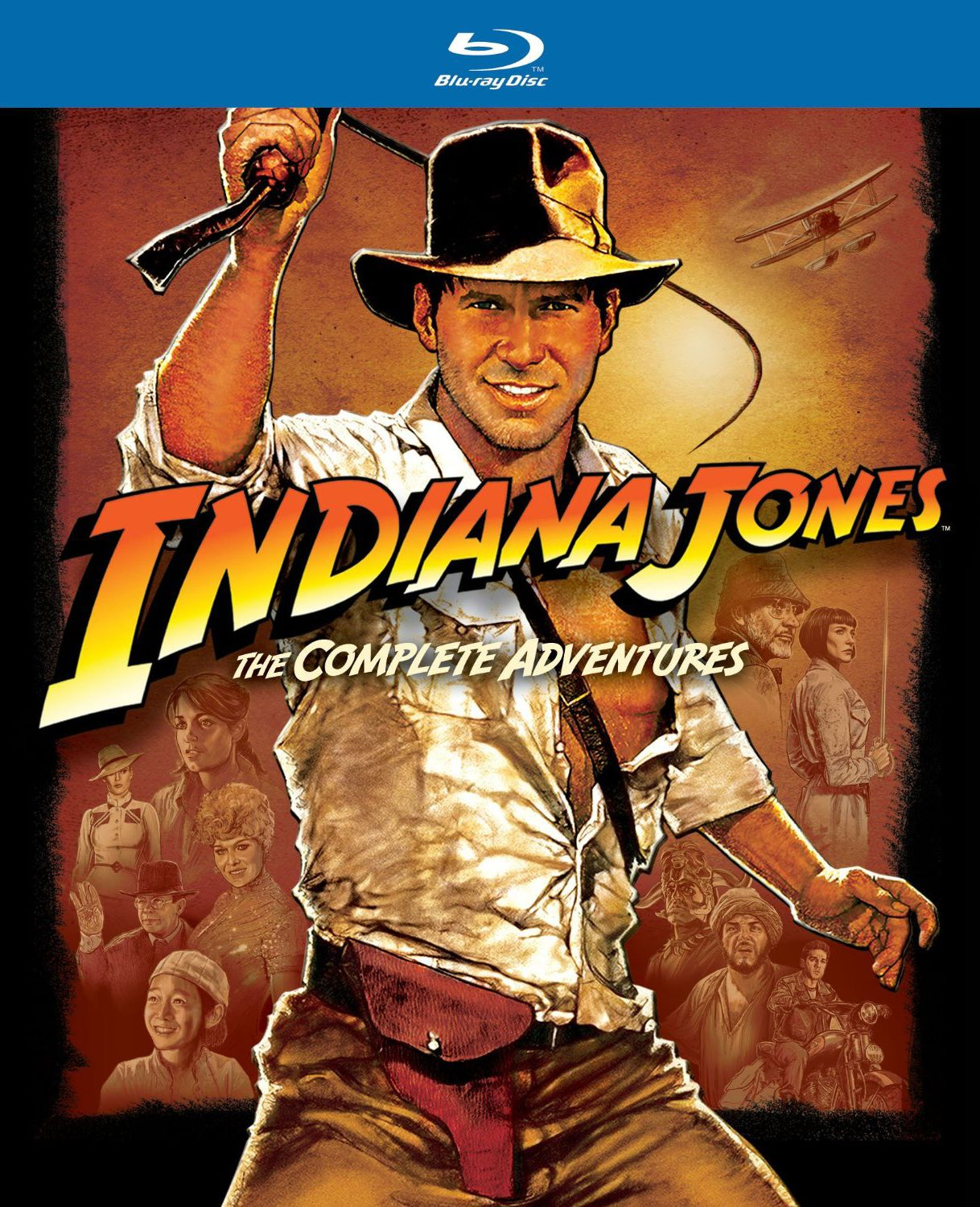 fa8bca3ac Blu-ray Review: Indiana Jones: The Complete Adventures - Slant Magazine