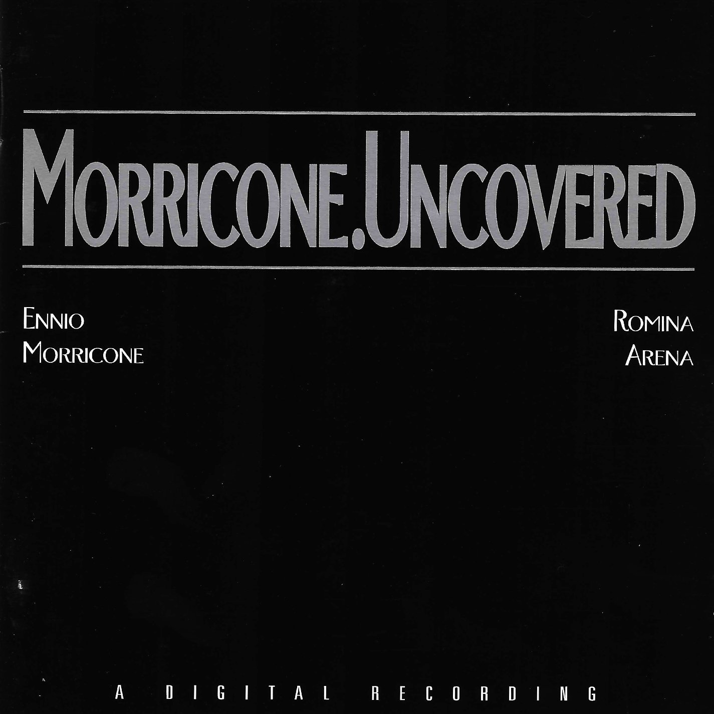 Romina Arena, Morricone Uncovered