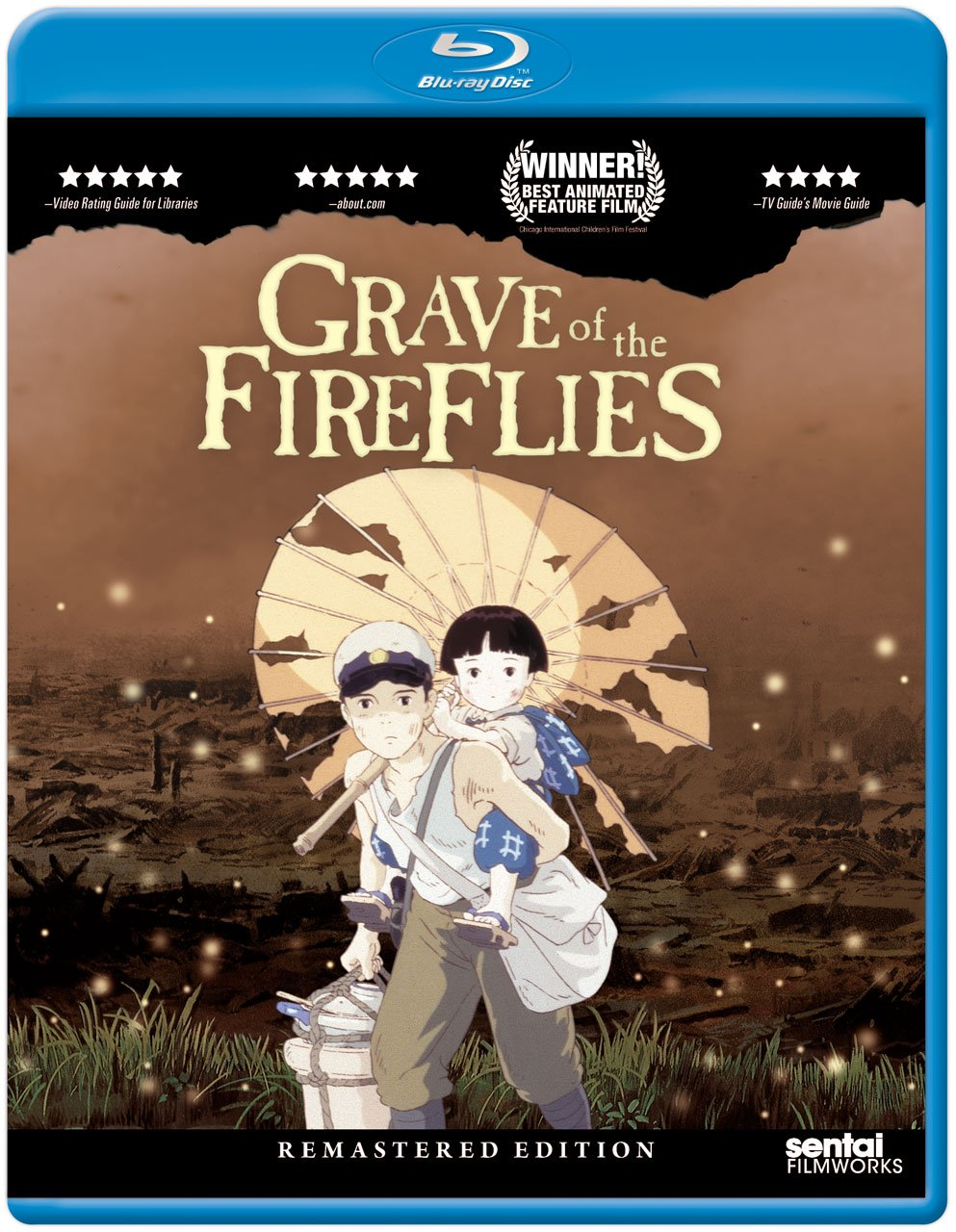 Review Isao Takahata S Grave Of The Fireflies On Sentai Blu Ray