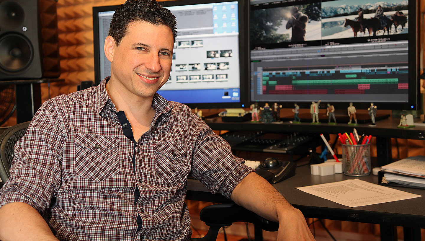A Cut Above: An Interview with Django Unchained Editor Fred Raskin