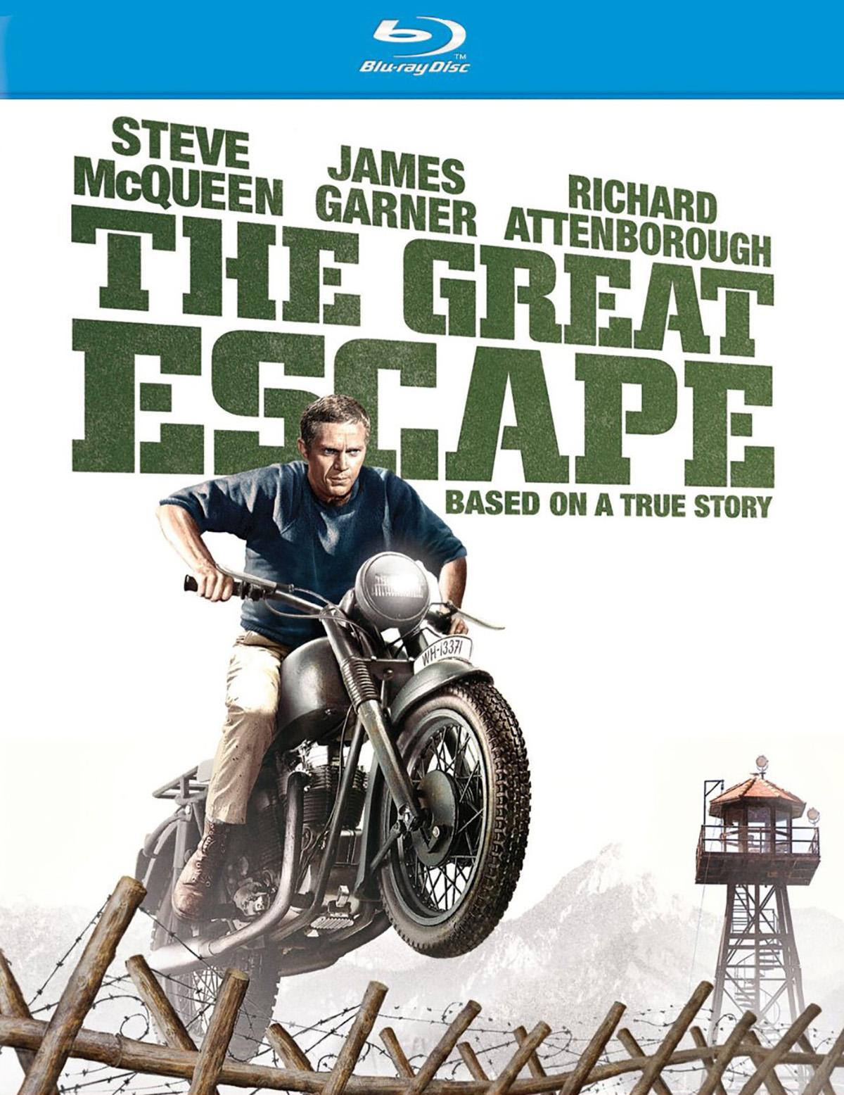 Steve McQueen Great Escape Bike POSTER Field
