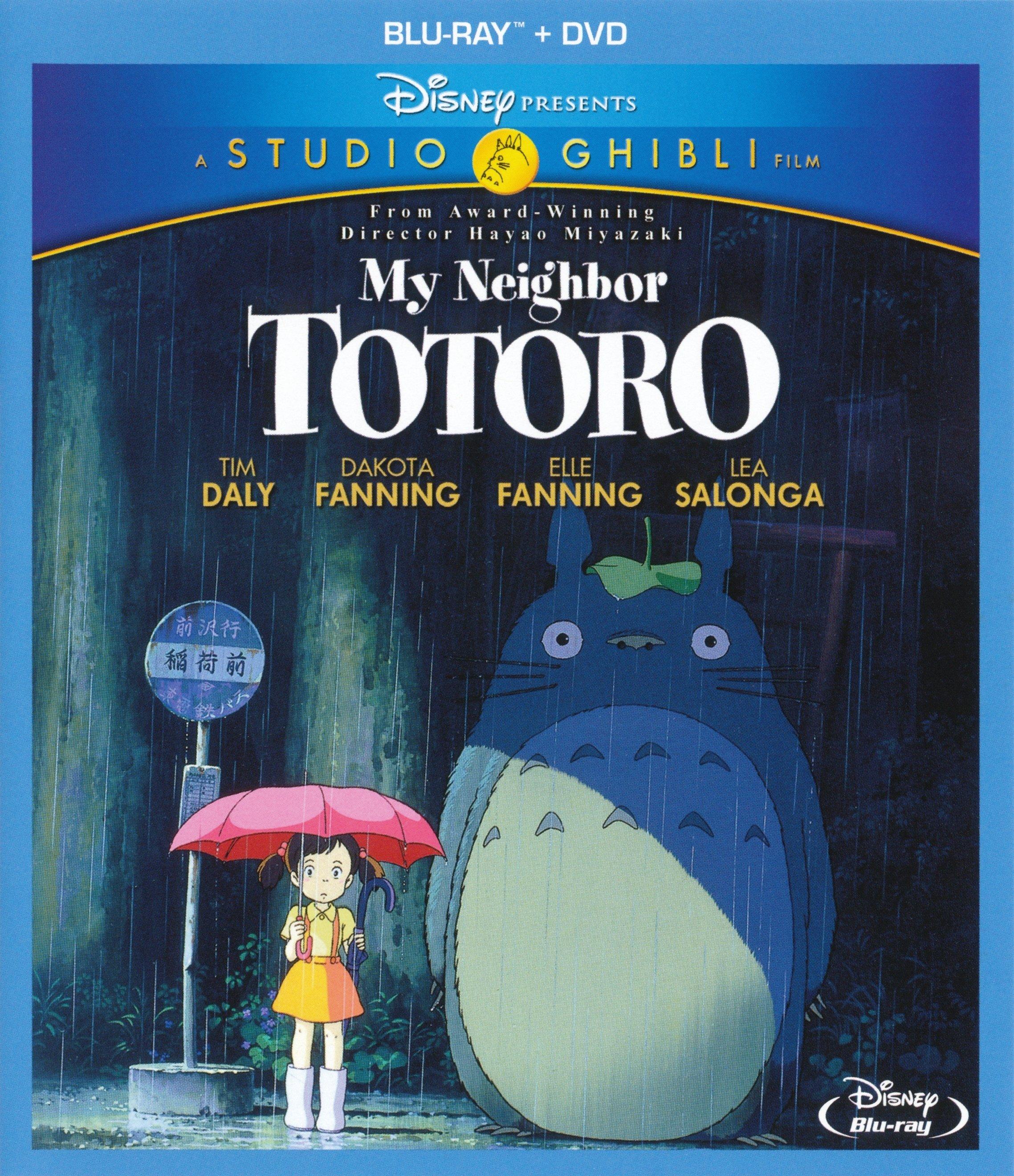 Review: Hayao Miyazaki's My Neighbor Totoro on Disney Blu