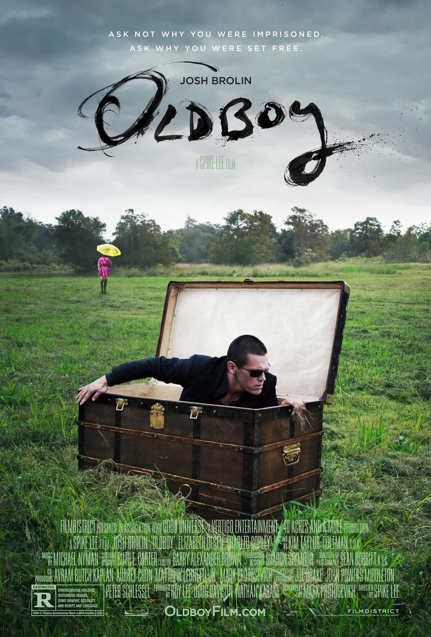 Poster Lab: Spike Lee's Oldboy