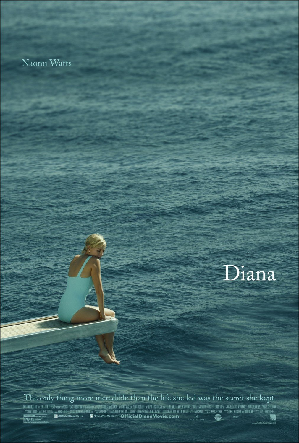 Poster Lab: Diana, with Naomi Watts Set Adrift Yet Again
