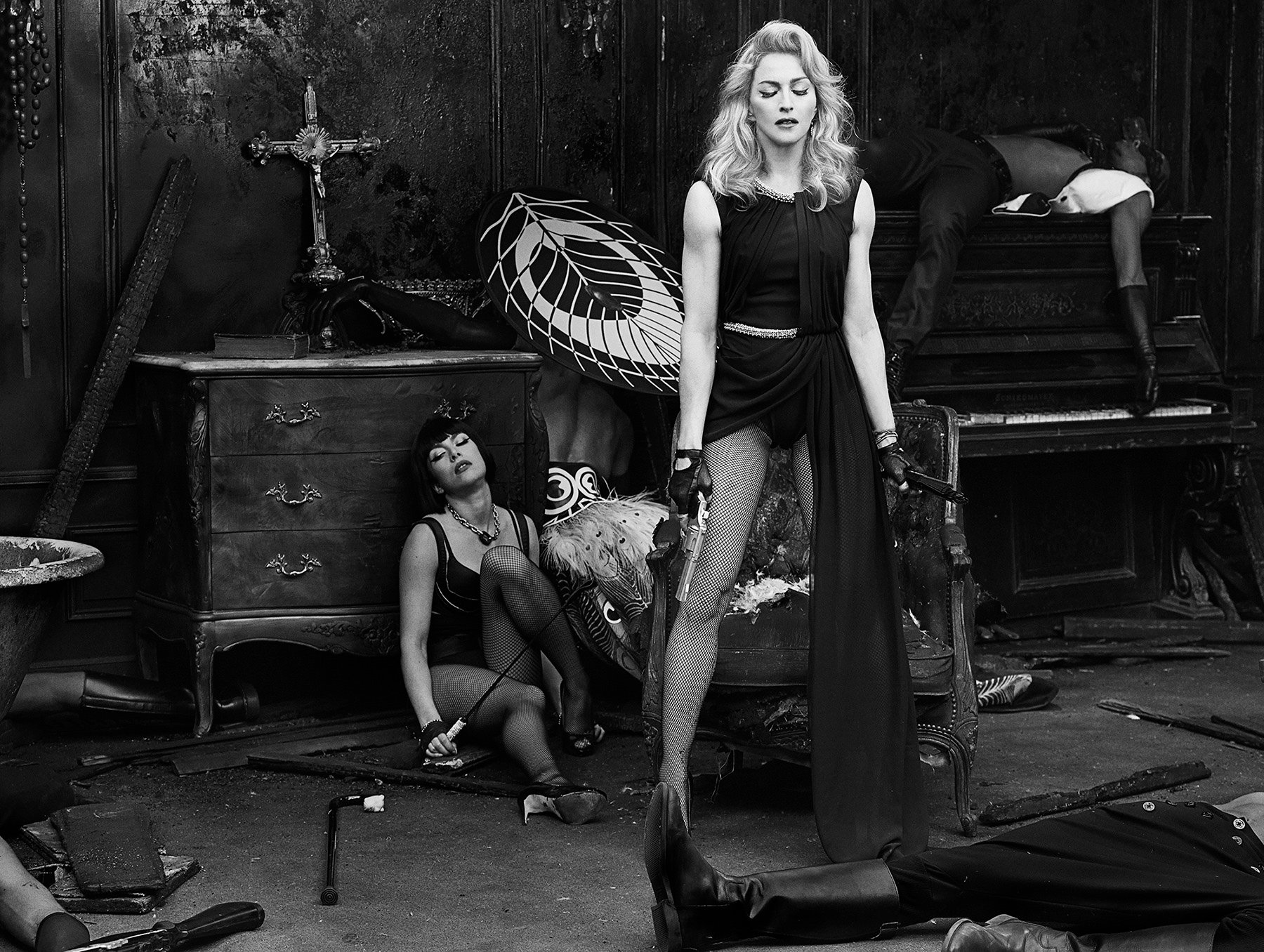Radical Chic: Madonna Unveils Short Film Secret Project Revolution