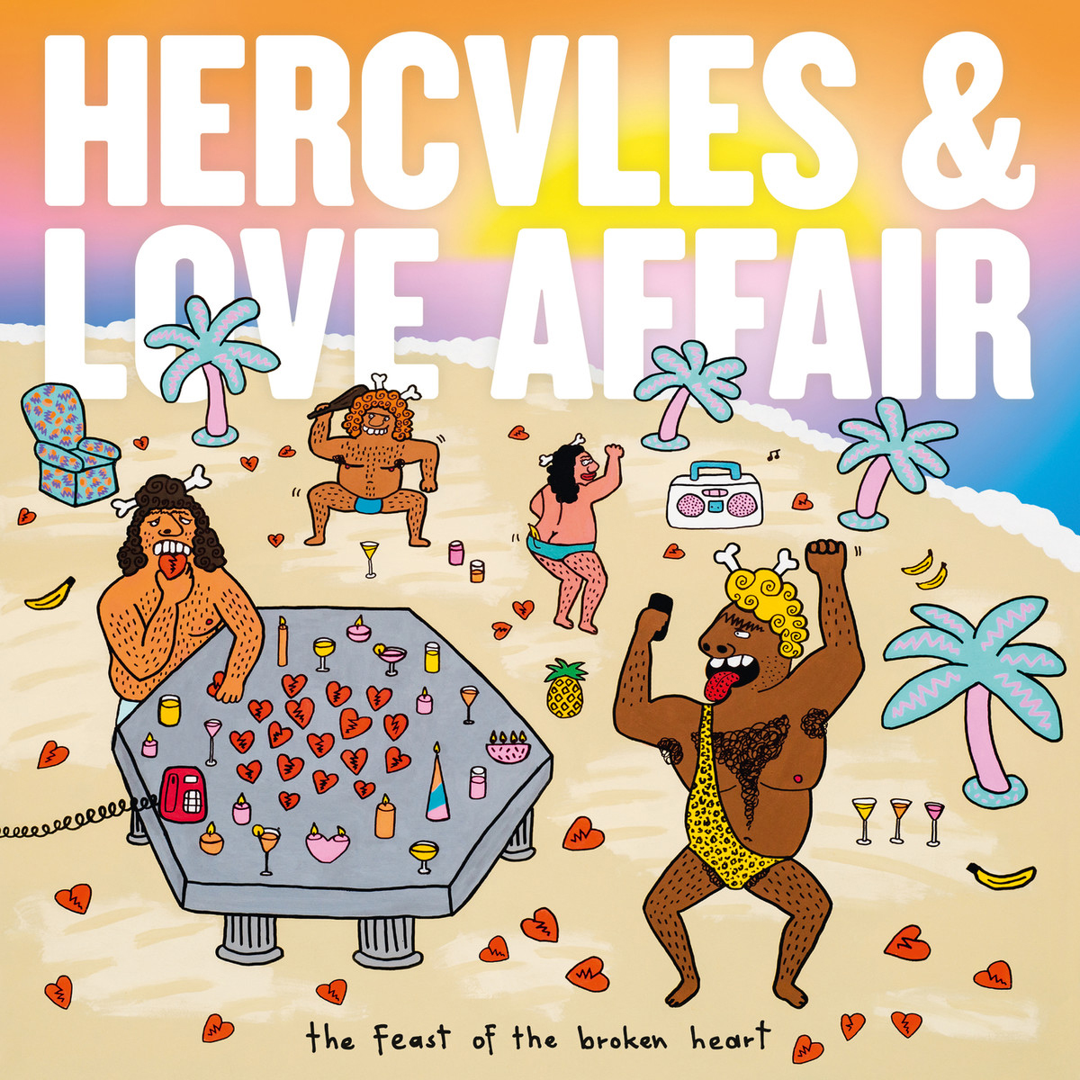 Hercules and Love Affair, The Feast of the Broken Heart