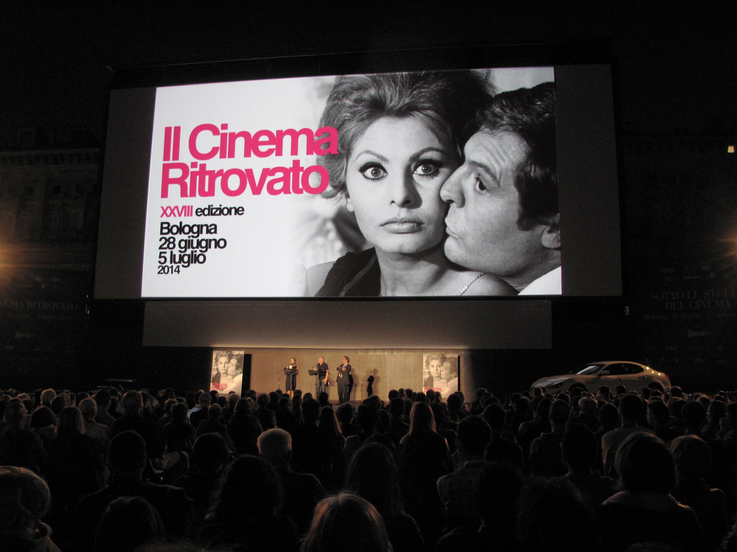 Il Cinema Ritrovato 2014