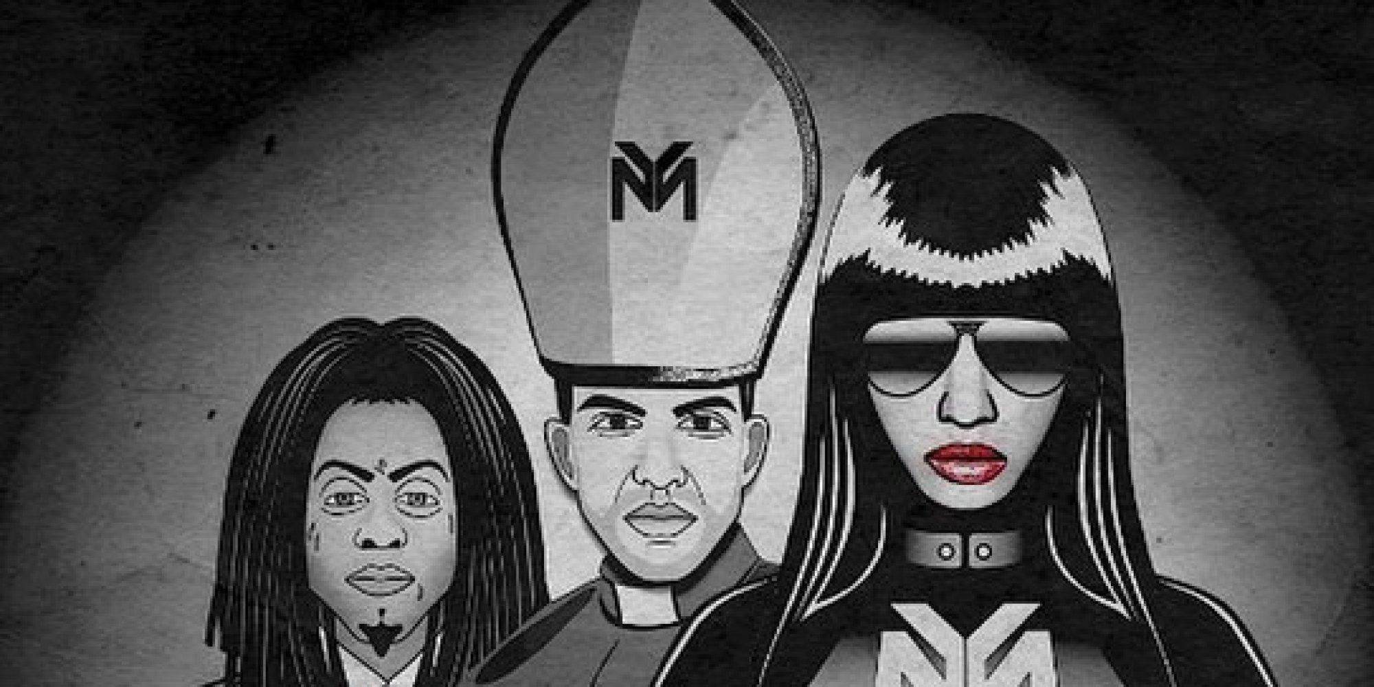 "Nicki Minaj & Nick Jonas Raise Eyebrows with Lyric Videos for ""Only"" & ""Teacher"""