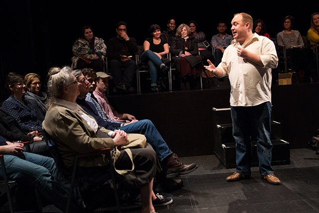 Review: Every Brilliant Thing at the Barrow Street Theatre