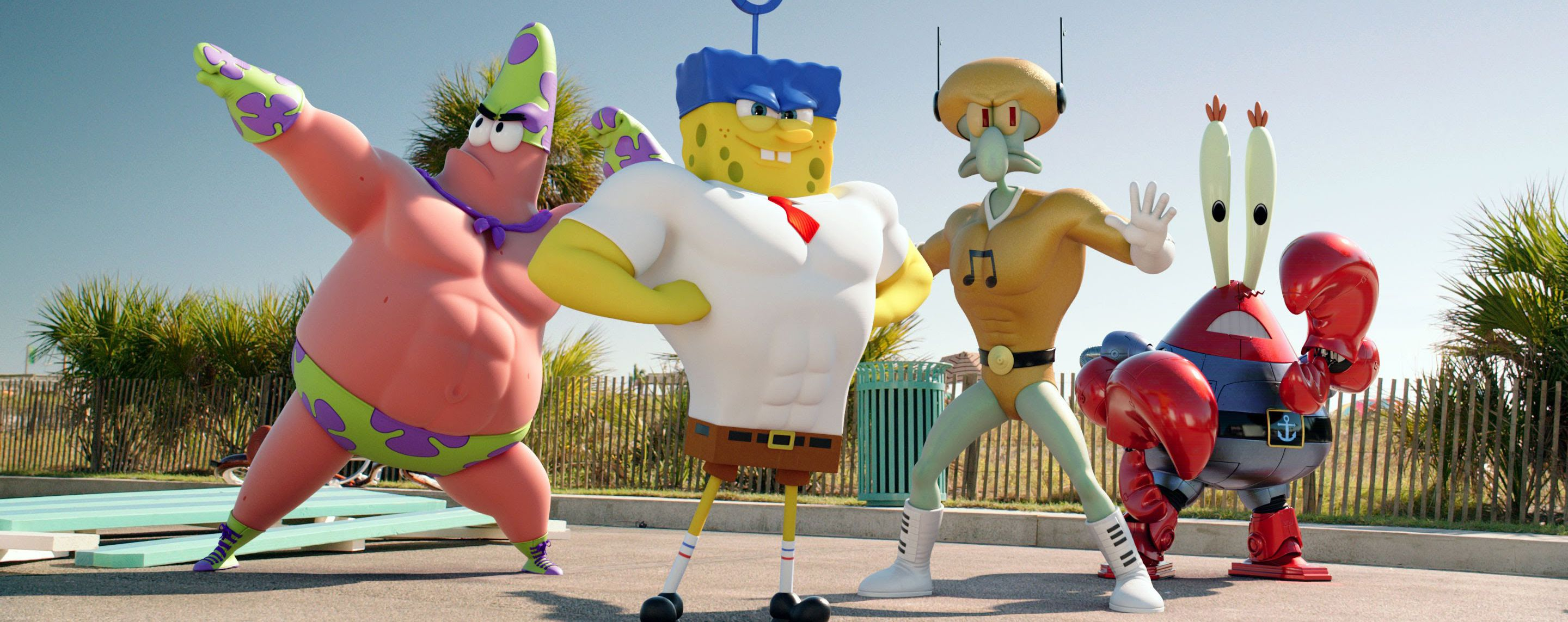 Review: The SpongeBob Movie: Sponge Out of Water - Slant