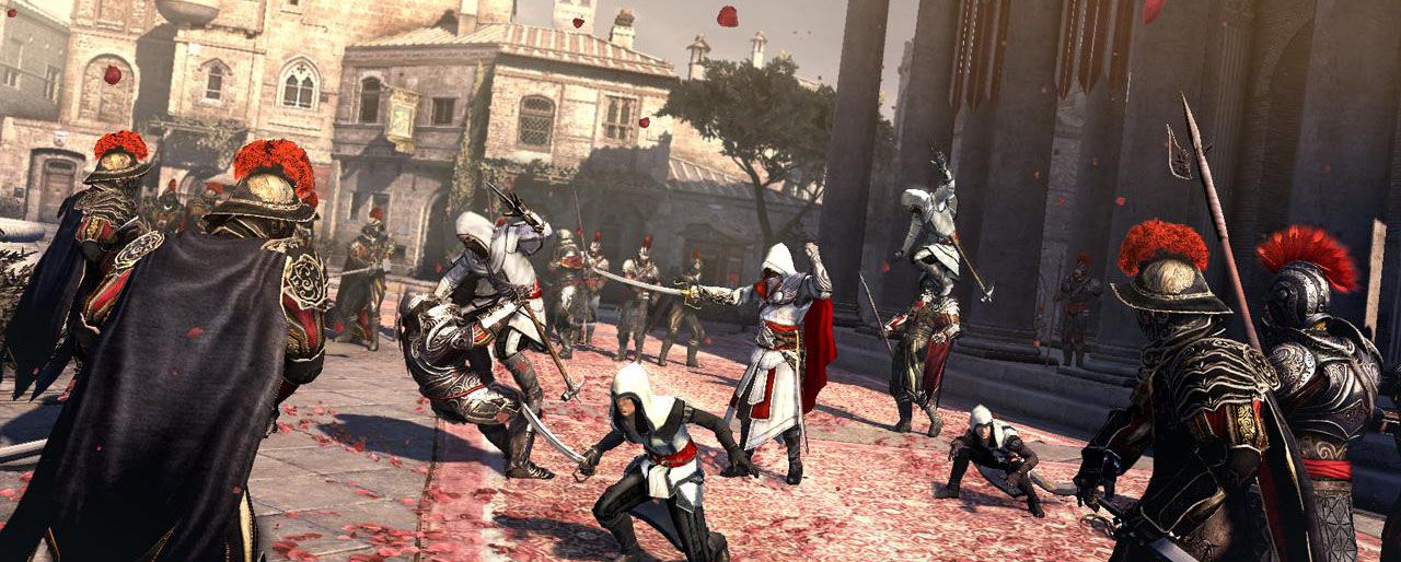 Review Assassin S Creed Brotherhood Slant Magazine