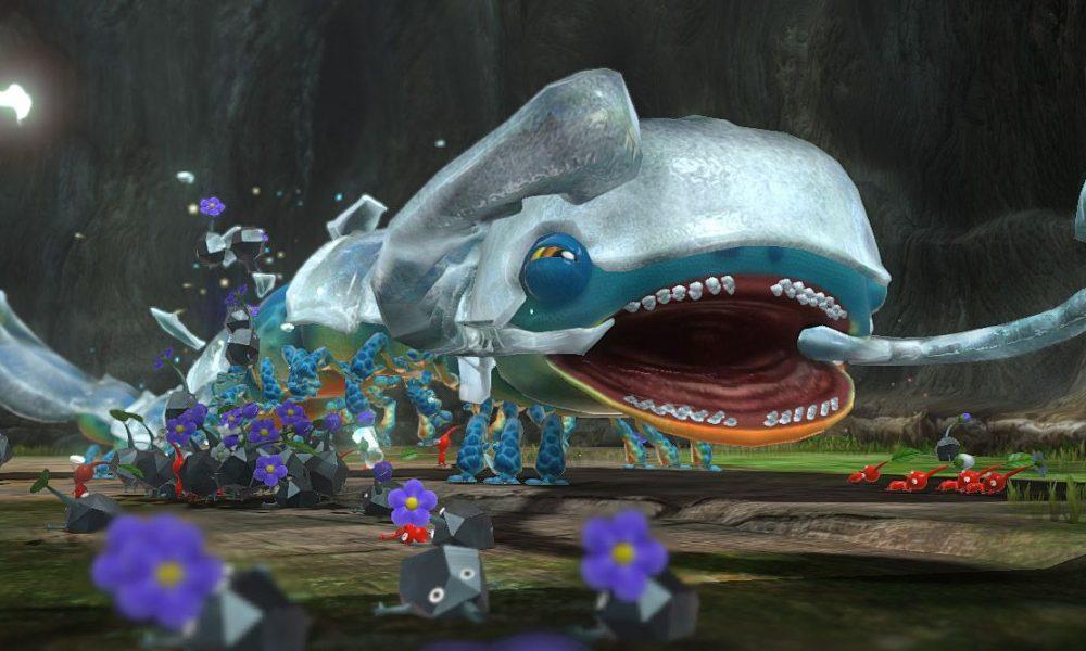 water pikmin 3 enemies