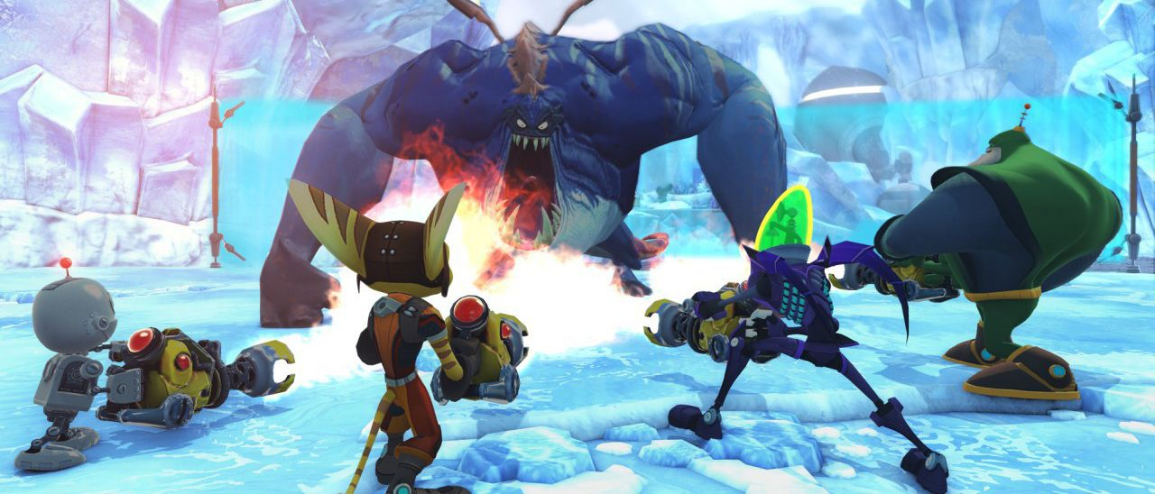 Review Ratchet Clank All 4 One Slant Magazine