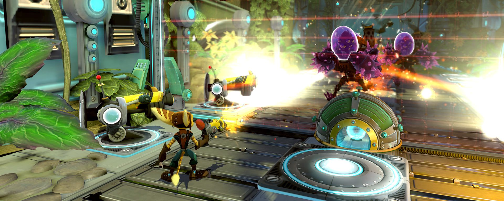 Review Ratchet Clank Full Frontal Assault Slant Magazine