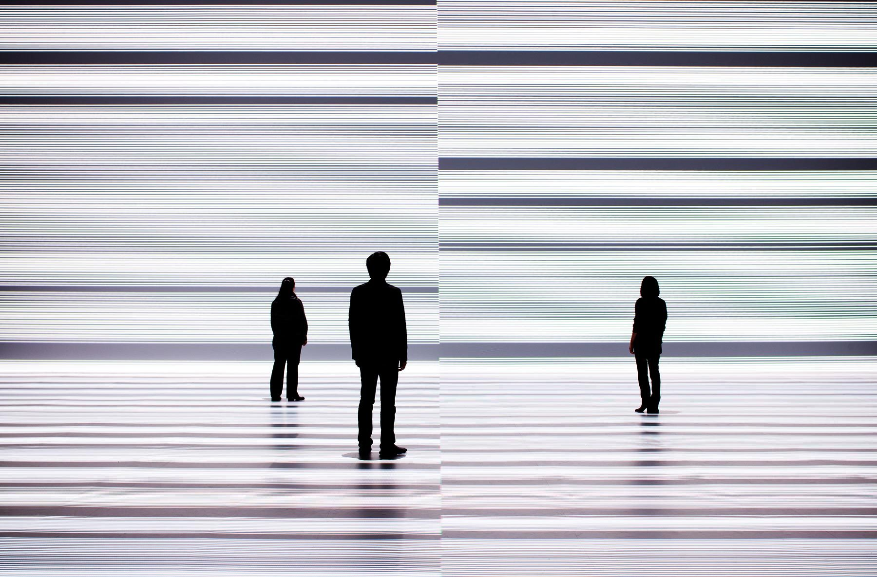 Grasping the Infinite Through Order: Ryoji Ikeda's the transfinite