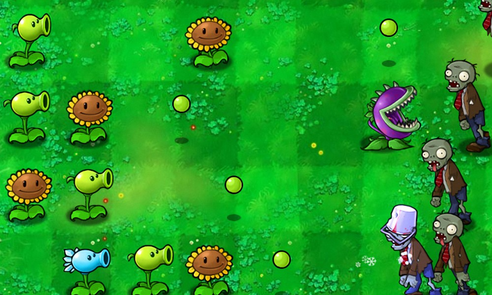 Not Your Usual Time Wasters: Plants vs  Zombies and Final Fantasy