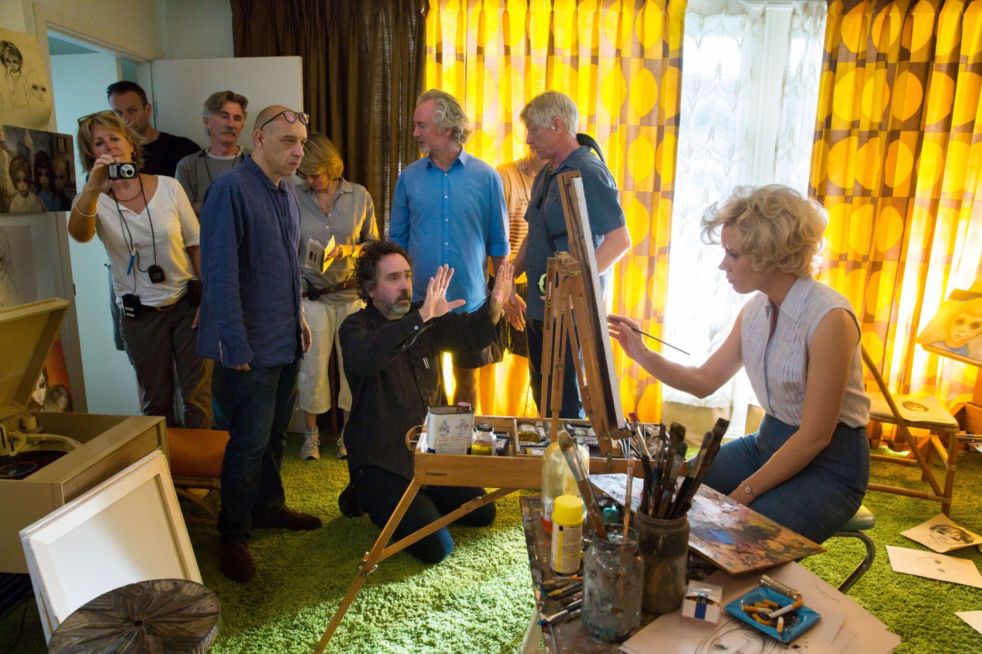 Interview: Tim Burton Talks Big Eyes, Margaret Keane, and More