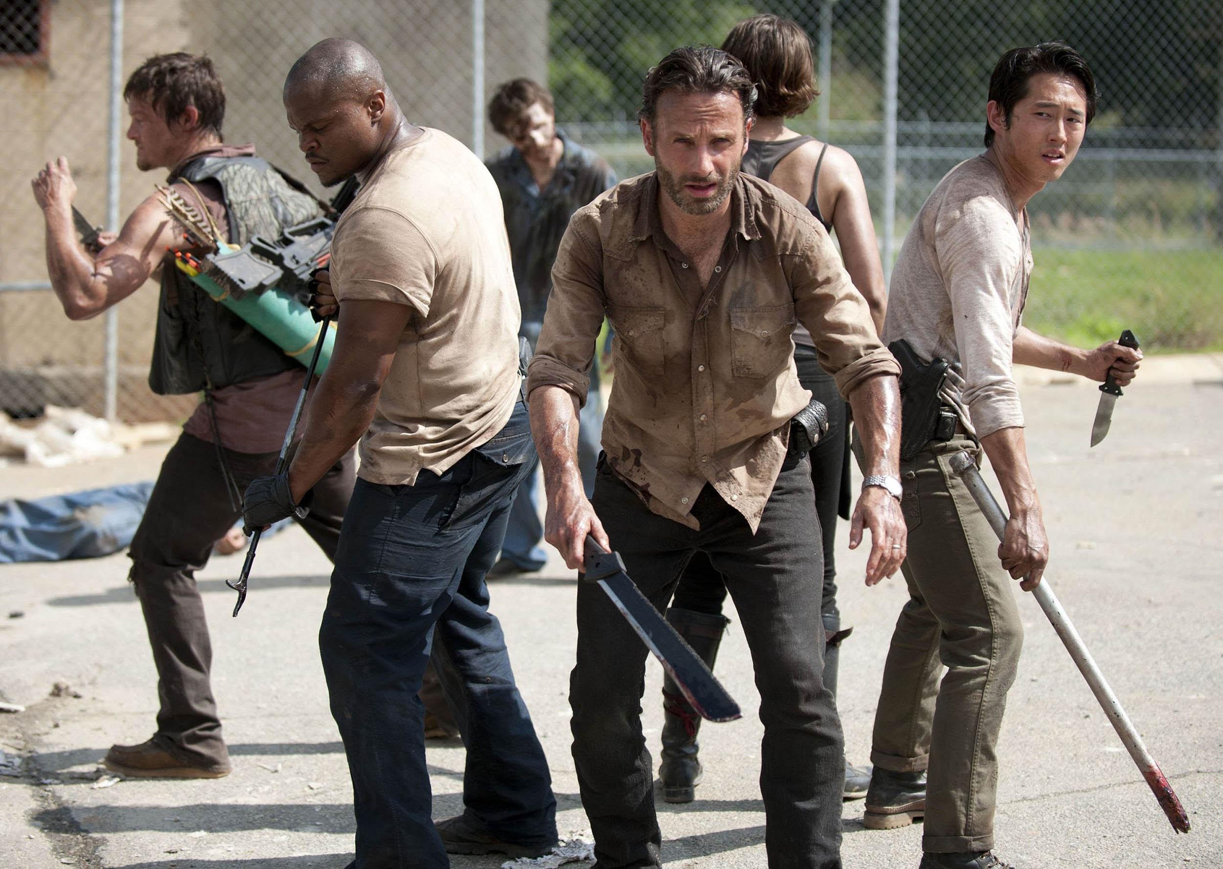 """The Walking Dead Recap: Season 3, Episode 1, """"Seed"""""""