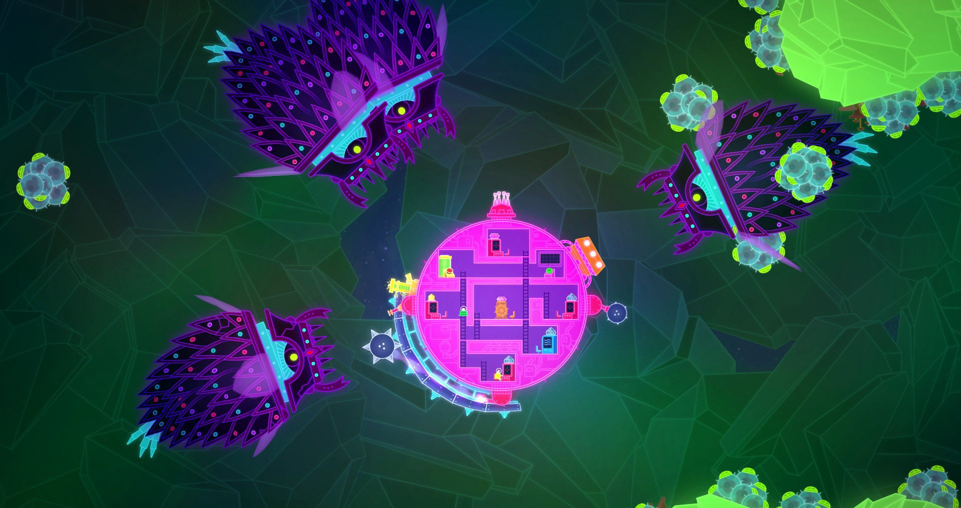 Review Lovers In A Dangerous Spacetime Slant Magazine