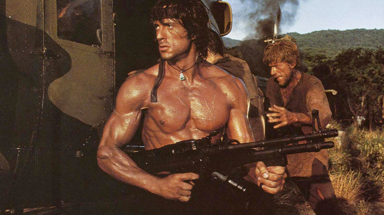 Image result for rambo part ii
