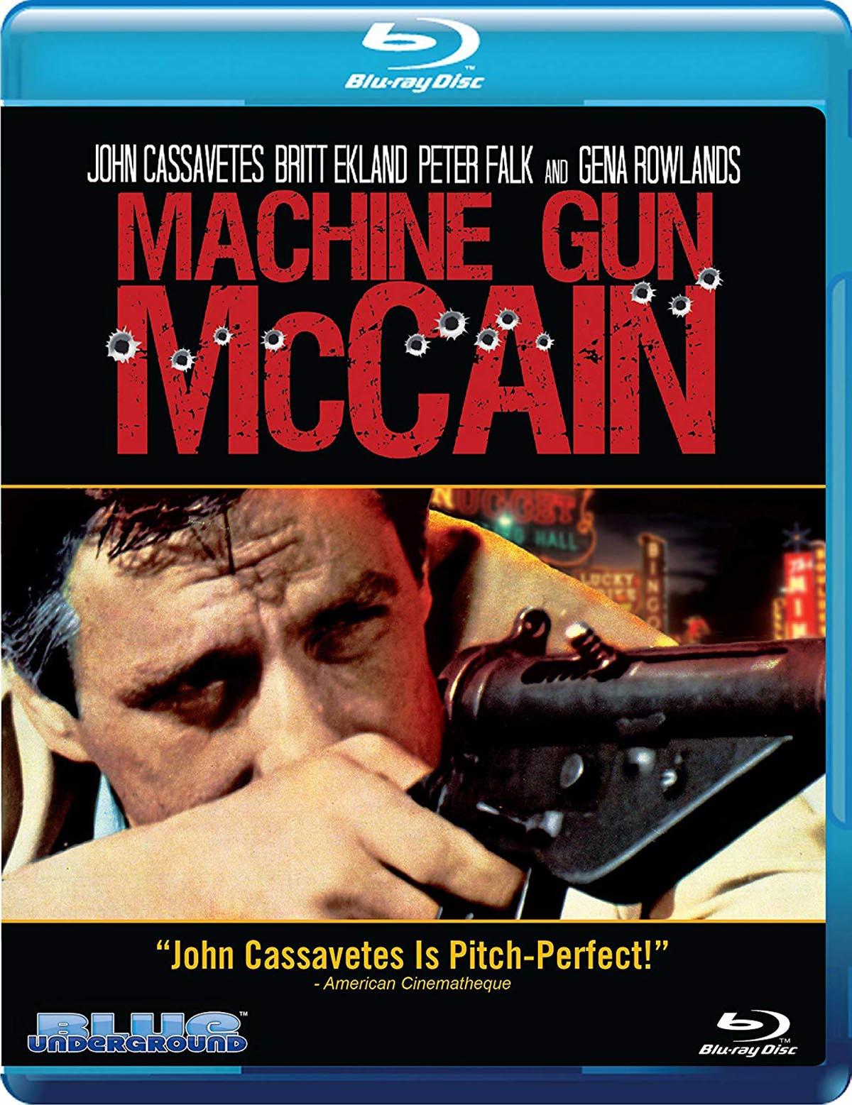 Blu Ray Review Machine Gun Mccain