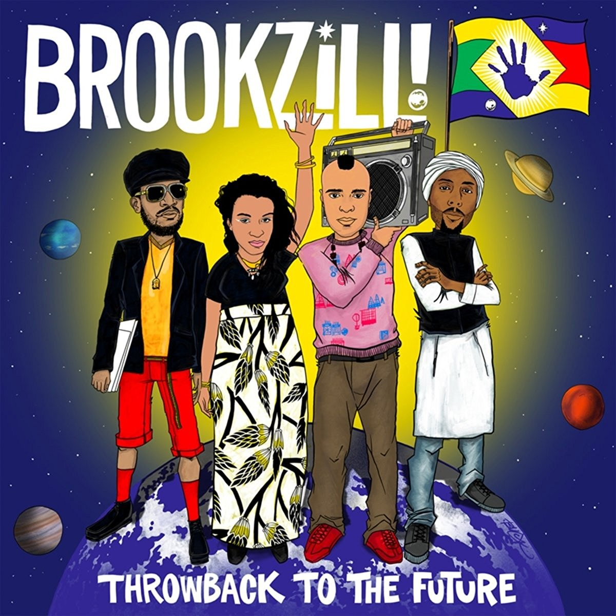 BROOKZILL!, Throwback to the Future