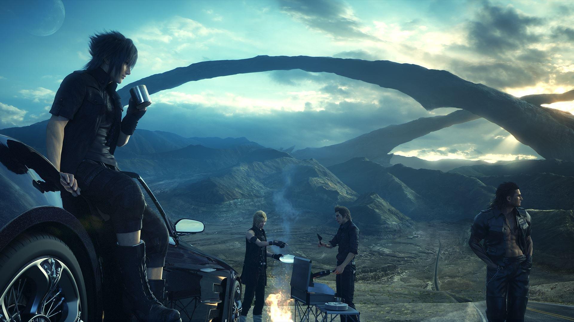 Review Final Fantasy Xv Slant Magazine